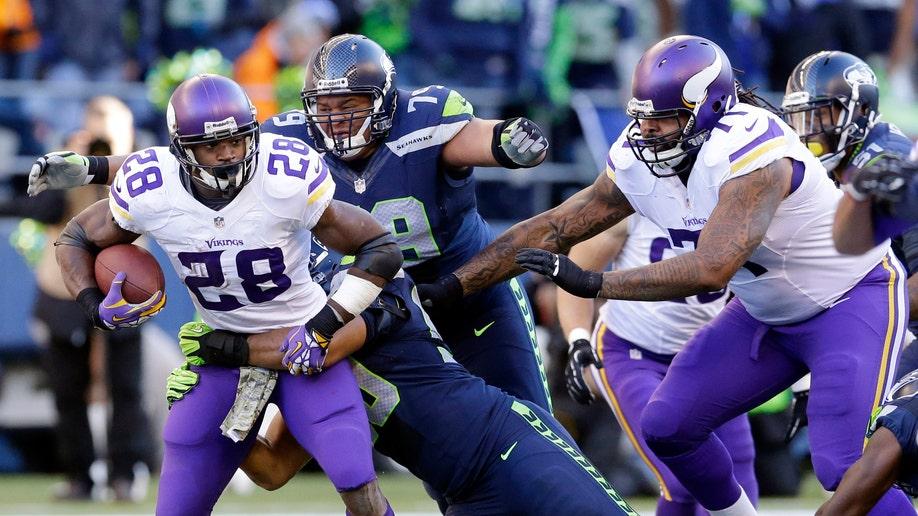 Vikings Seahawks Football