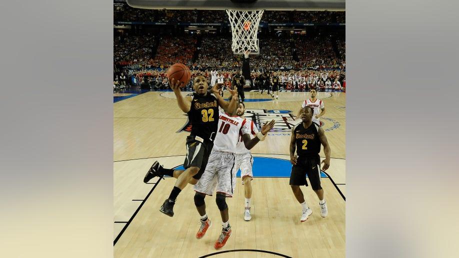 291e5cd4-NCAA Final Four Wichita St Louisville Basketball