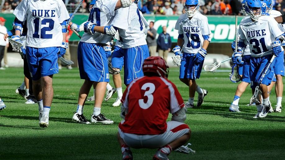 NCAA Cornell Duke Lacrosse