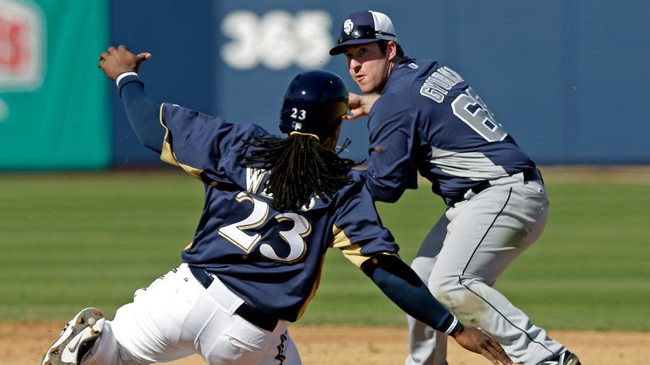 7cb85564-Padres Brewers Spring Baseball
