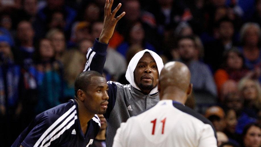 Warriors Thunder Basketball