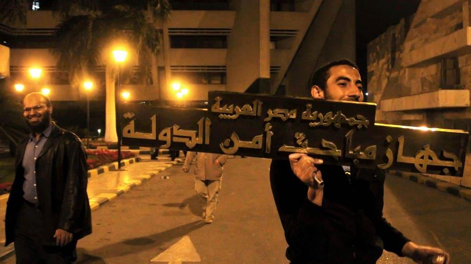 Mideast Egypt State Security Return