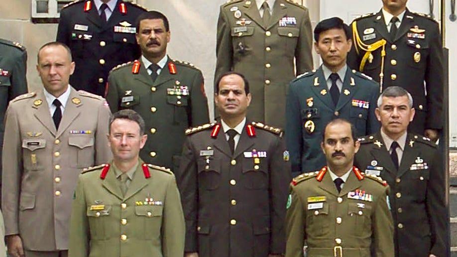 Mideast Egypt El Sissi