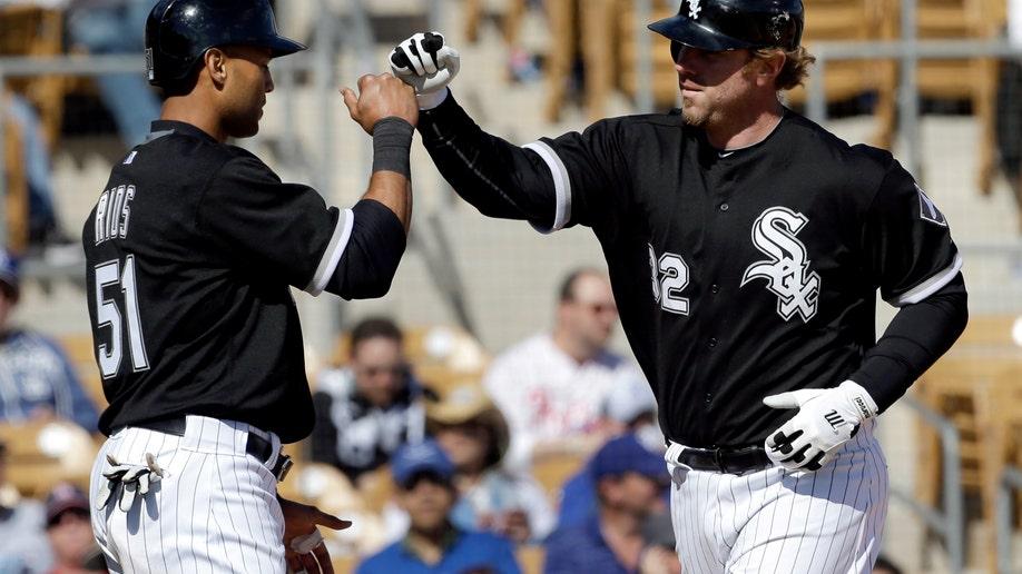 133fd305-Dodgers White Sox Spring Baseball