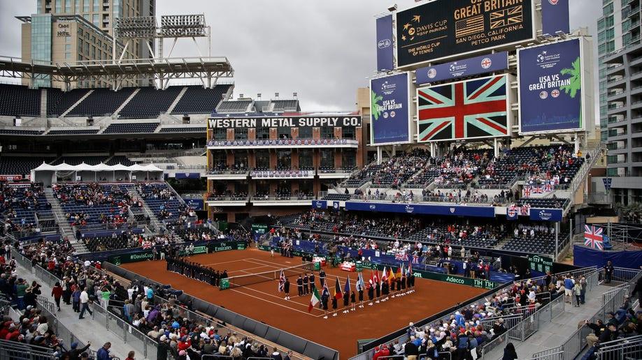 Davis Cup Britain US Tennis
