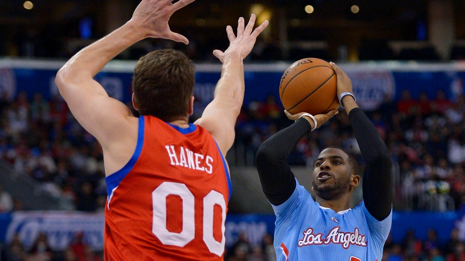 76ers Clippers Basketball