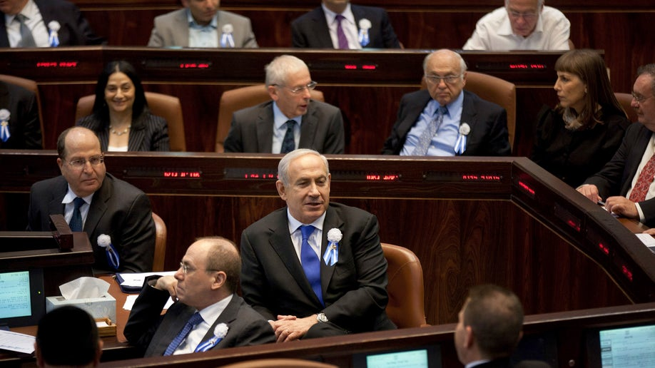 Mideast Israel Palestinians Politics