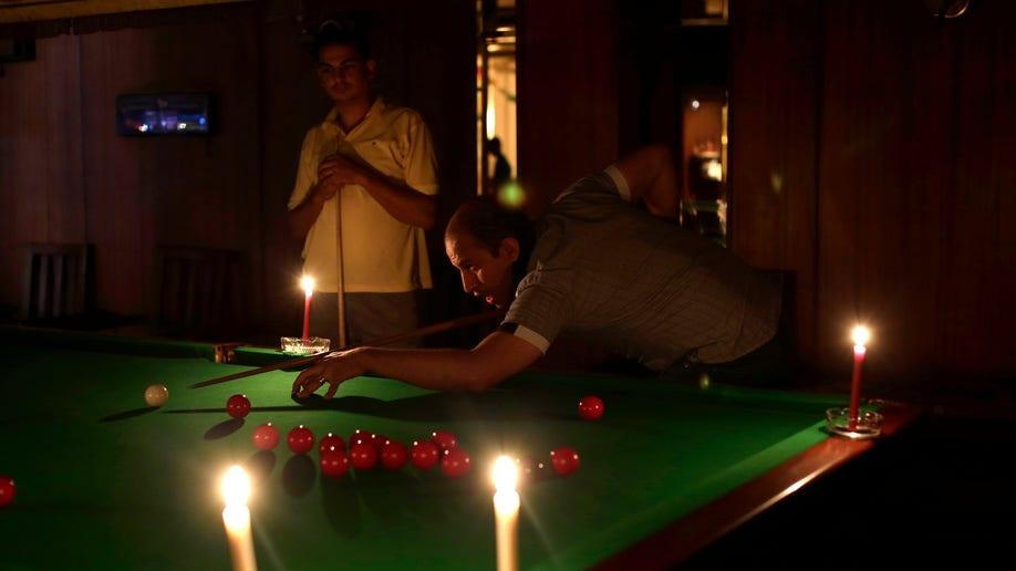 Mideast Egypt Power Cuts