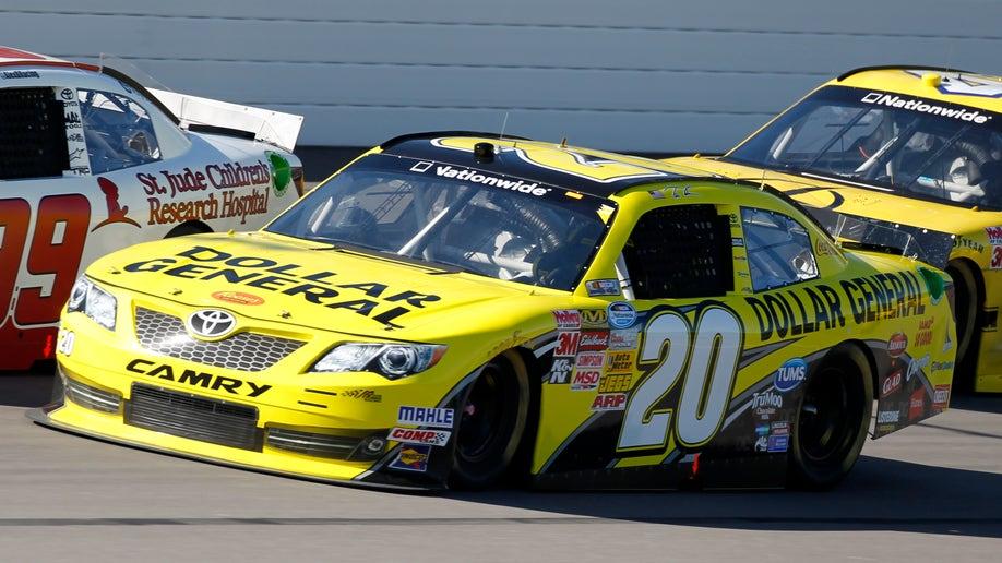 NASCAR Nationwide Kansas Auto Racing