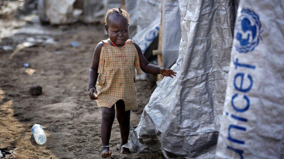 APTOPIX South Sudan Refugee Camp