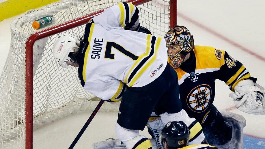 Bruins Scrimmage Hockey