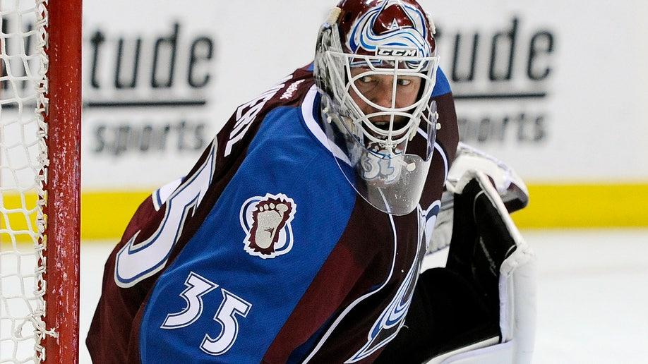 Canucks Avalanche Hockey