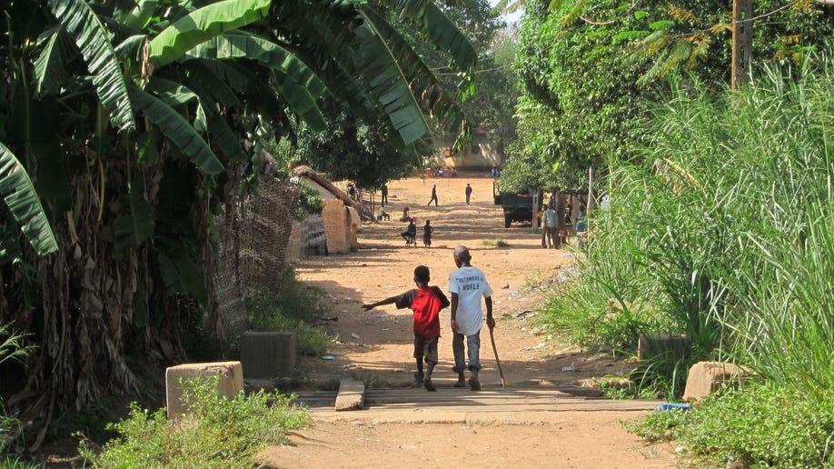 Central African Republic Beleaguered Town