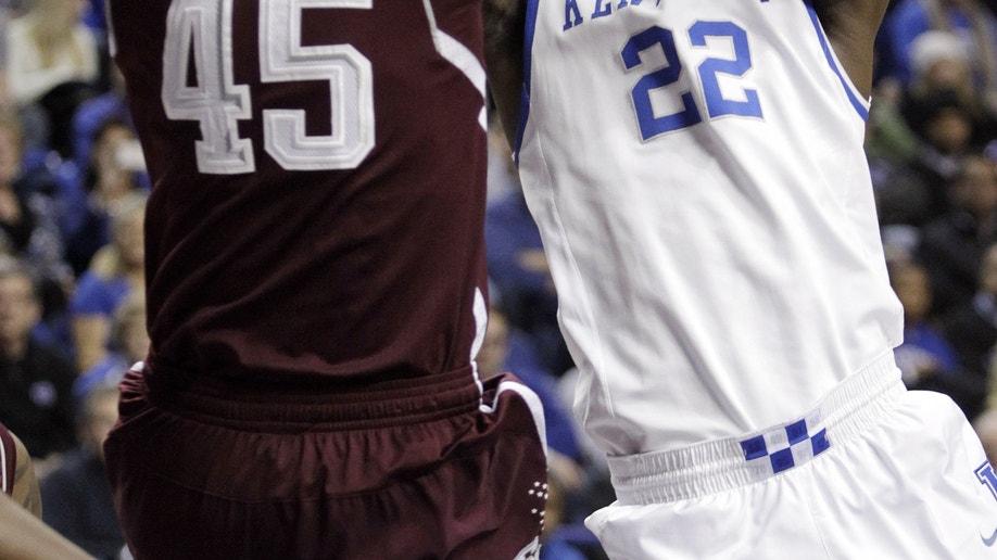 Texas A&M Kentucky Basketball