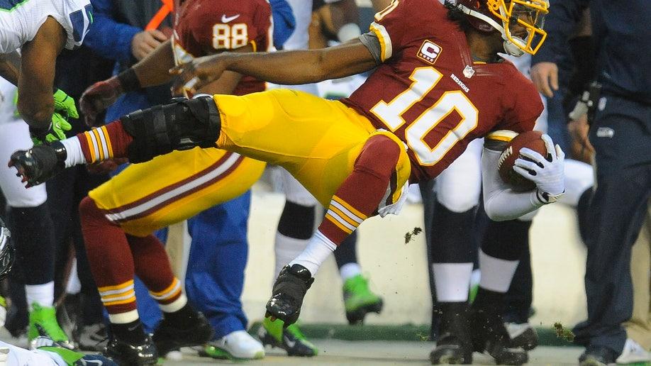 APTOPIX Seahawks Redskins Football