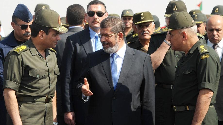 Mideast Egypt Morsi and Jihadis