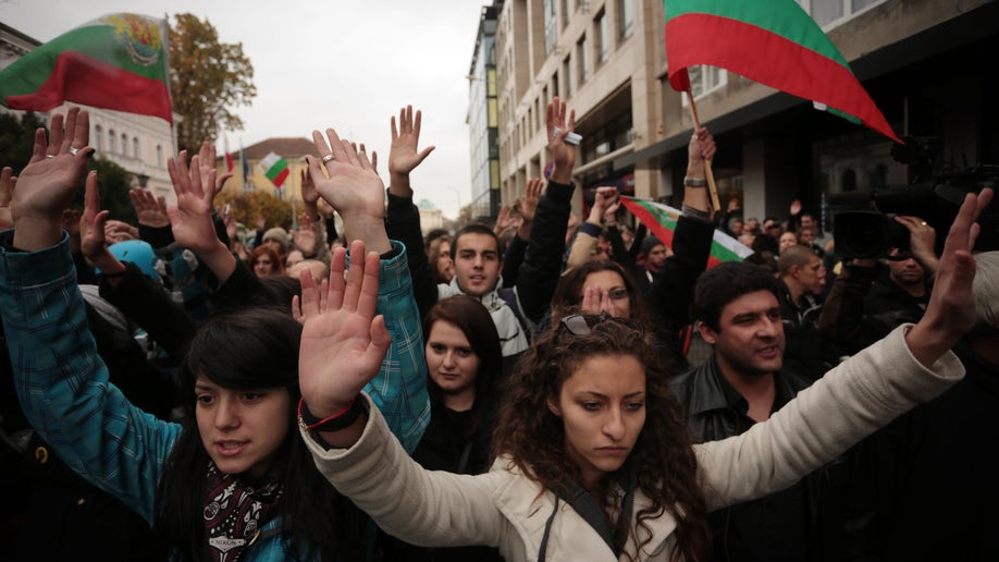 Bulgaria Student Protests