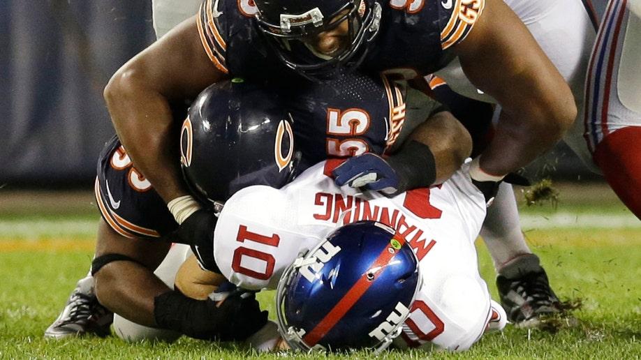 57501304-Giants Bears Football
