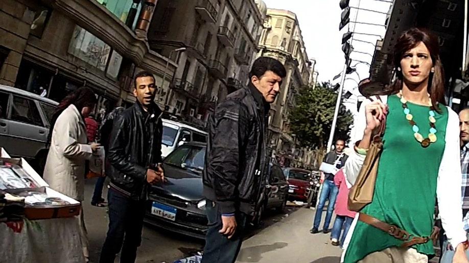APTOPIX Mideast Egypt Harassment