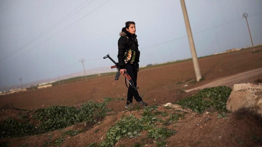 Mideast Syria Kurdish Gains
