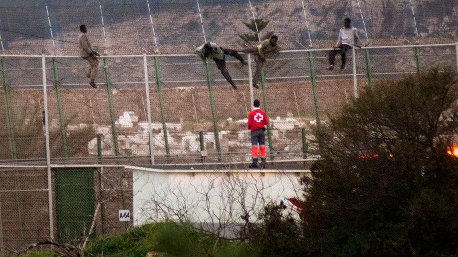 APTOPIX Spain Migrants
