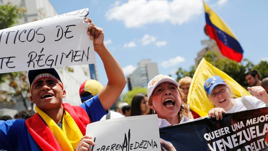 59446af9-Venezuela Mayor Arrested