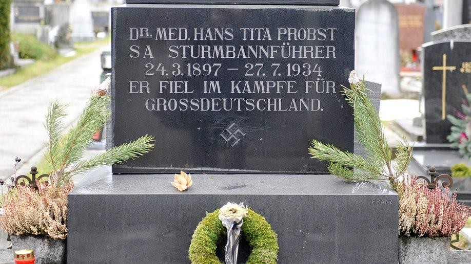 Austria Nazi Gravestone