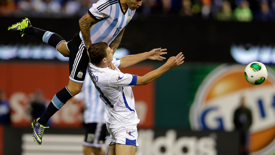 Argentina Bosnia Soccer