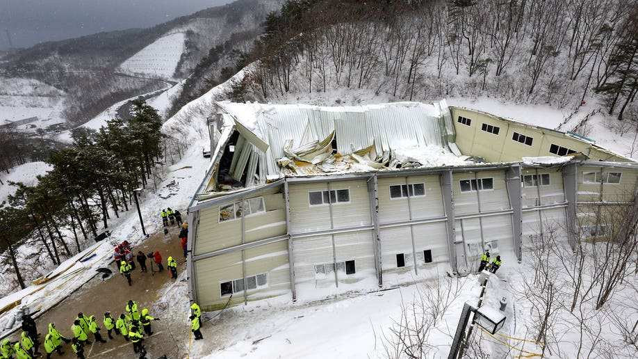 South Korea Roof Collapse