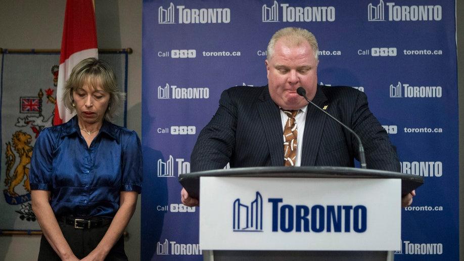 Canada Toronto Mayor Family