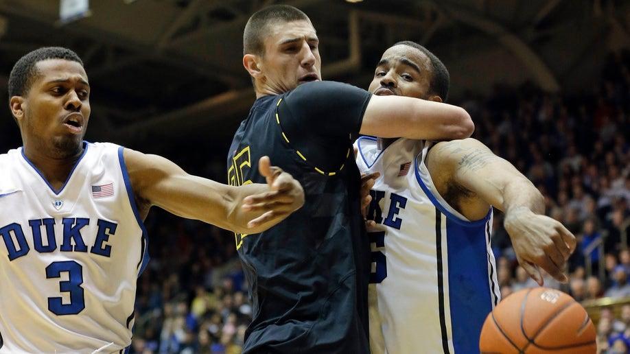 APTOPIX Maryland Duke Basketball