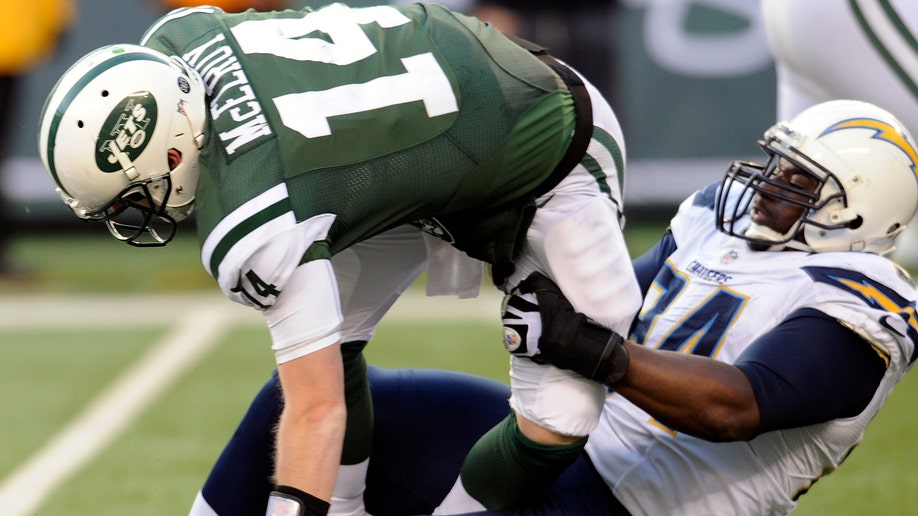 Chargers Jets Football