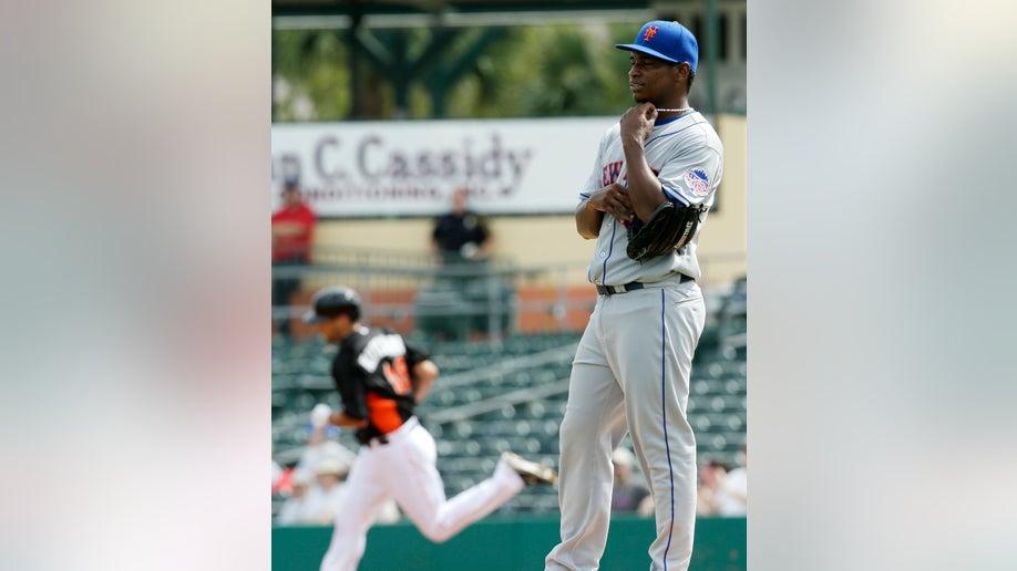 Mets Marlins Spring Baseball