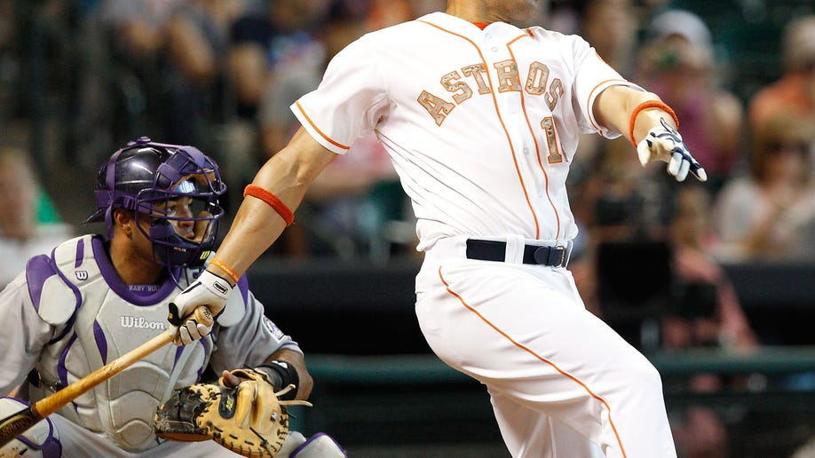 Rockies Astros Baseball