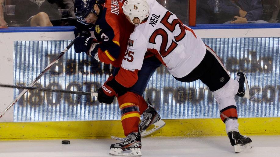 Senators Panthers Hockey