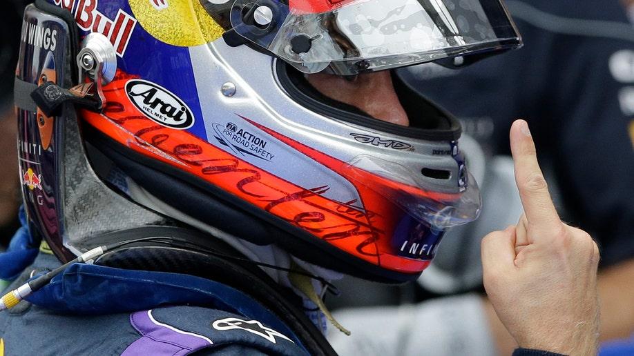 Korea F1 GP Auto Racing