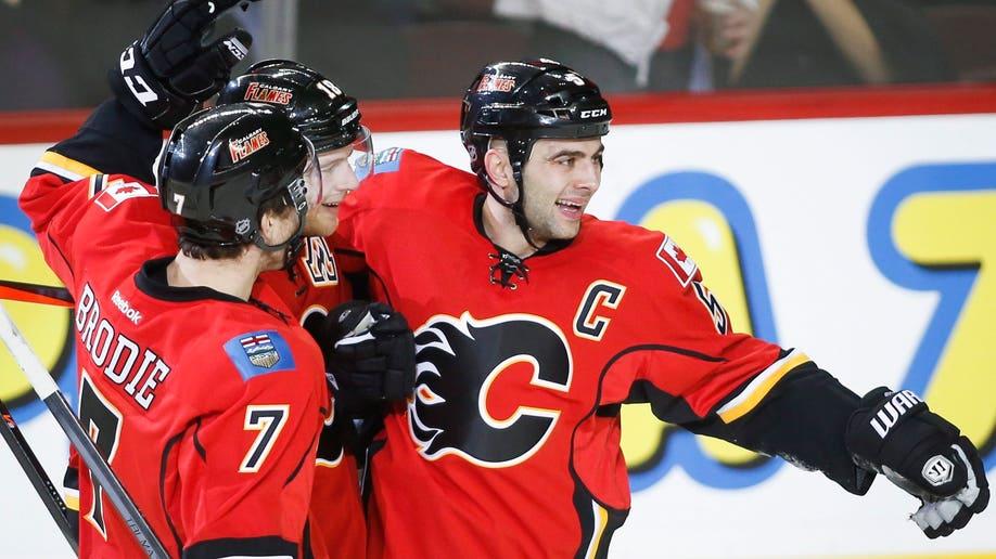 Coyotes Flames Hockey
