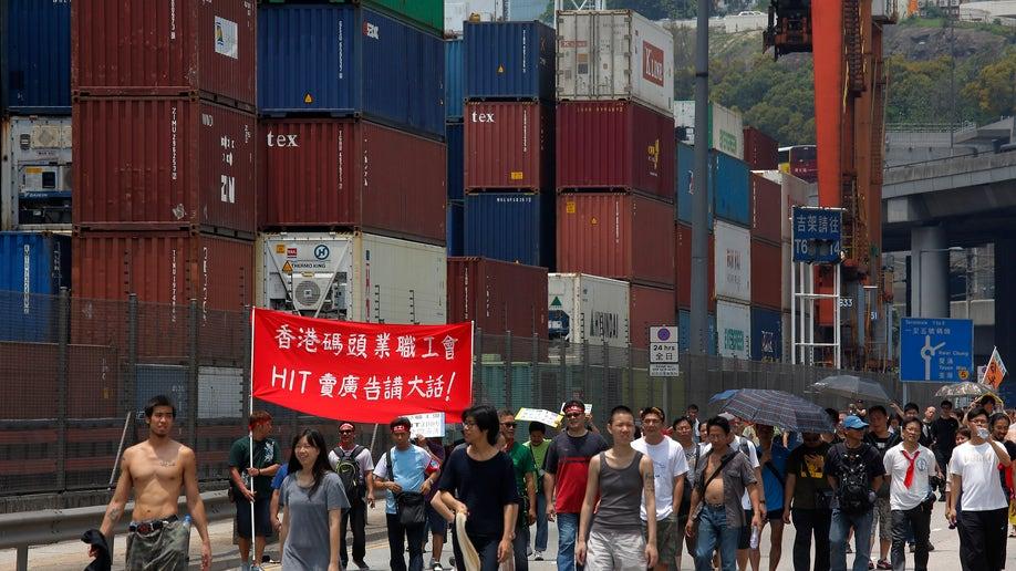 Hong Kong Port Strike