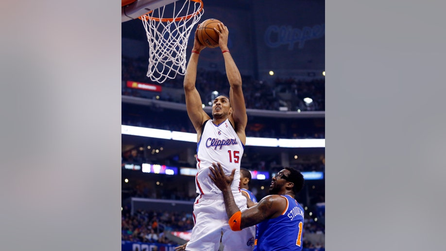 d49be0e2-Knicks Clippers Basketball