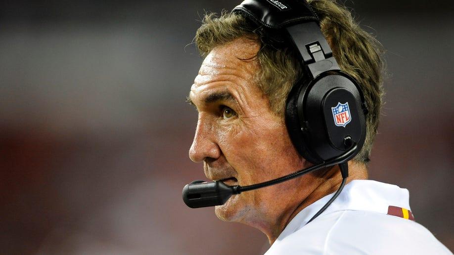 Broncos Shanahan Returns Football