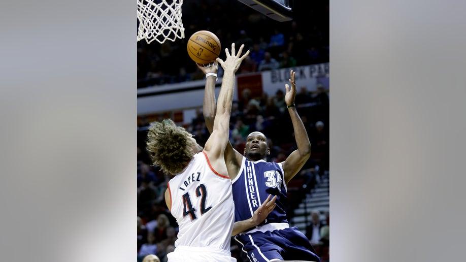 Thunder Trail Blazers Basketball