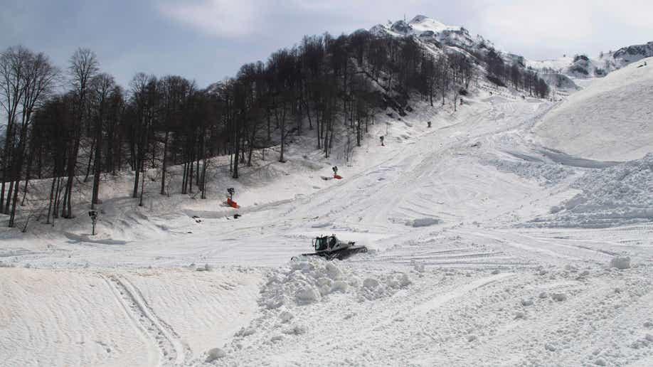 Russia Sochi Snow