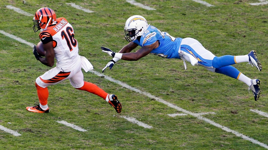 Bengals Chargers Football