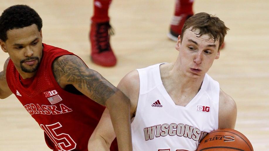 Nebraska Wisconsin Basketball