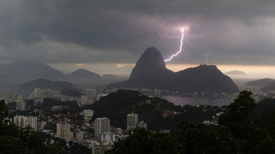 APTOPIX Brazil Weather