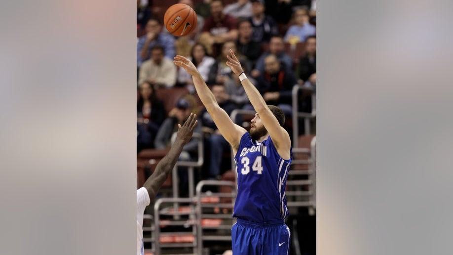 Creighton Wragge Raining Threes Basketball