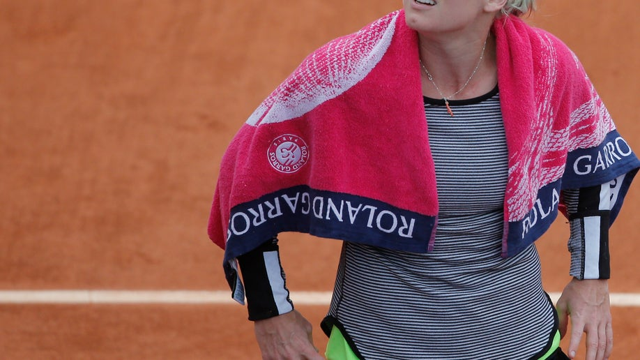 3875f6ba-France Tennis French Open