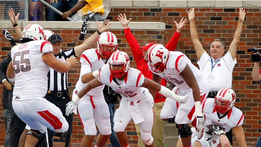 APTOPIX Rutgers SMU Football
