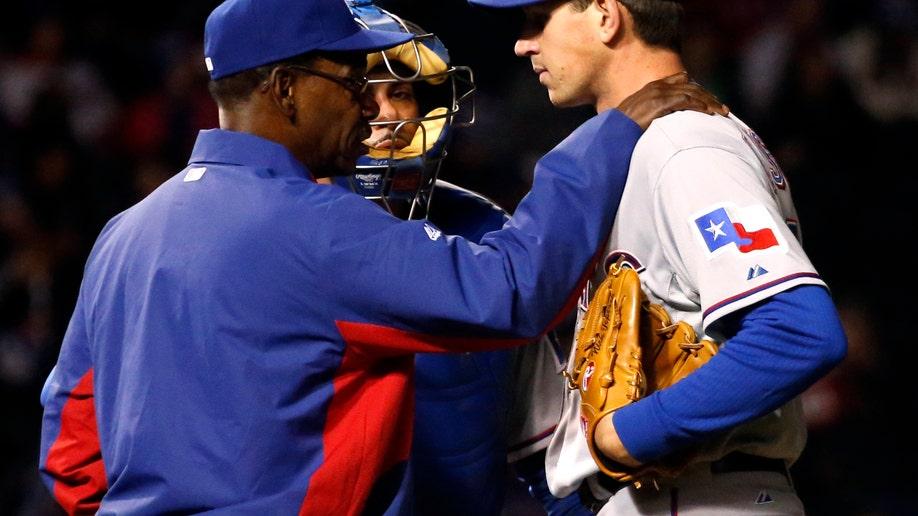 608654de-Rangers Cubs Baseball