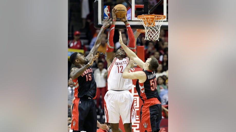 Raptors Rockets Basketball